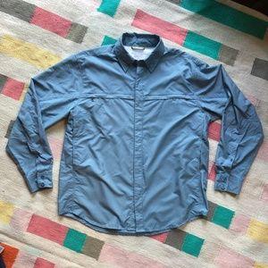 Men's Royal Robbins fishing/outdoors vented shirt